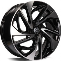 Carbonado Atlantic 19x7,5 5x114,3 ET51 black polished