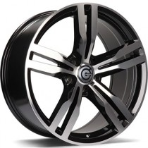 Carbonado Bastion 19x8,5 5x112 ET25 66,6 black polished