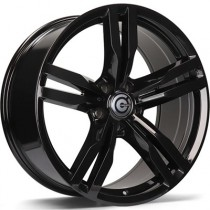 Carbonado Bastion 19x8,5 5x112 ET25 66,6 black glossy