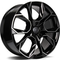Carbonado Beast 17x7 5x112 ET43 57,1 black polished