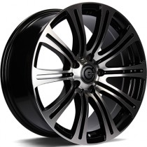 Carbonado Comeback 17x7,5 5x120 ET35 72,6 black polished