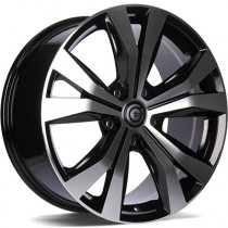 Carbonado Copenhagen 19x8,5 5x130 black polished