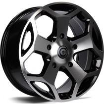 Carbonado Giant 18x8 5x160 ET50 65,1 black polished