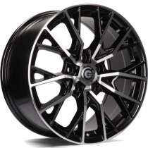Carbonado Intensive 17x8 5x114,3 ET40 black polished