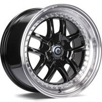 Carbonado Journey 15x8 4x100 ET20 67,1 black polished