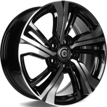 Carbonado Monk 17x7 5x114,3 ET45 73,1 black polished