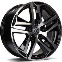 Carbonado Nice 17x7,5 5x108 ET45 black polished