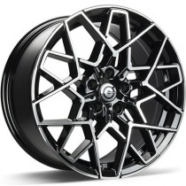 Carbonado Shield 18x8 5x112 ET30 black polished