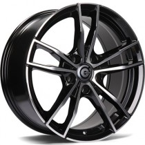 Carbonado Volcano 18x8 5x120 ET30 black polished