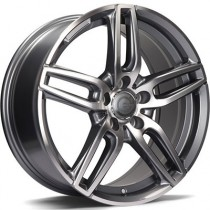 Carbonado Way 18x8 5x112 ET45 anthracite polished