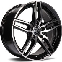 Carbonado Way 17x7,5 5x112 ET45 black polished
