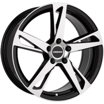 Carmani 16 Anton 17x7,5 black polished