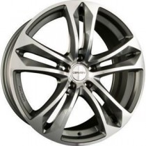 Carmani 5 Arrow 18x8 anthracite polished