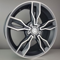 Carbonado Castle 18x8,5 5x120 ET33 72,6 diamond hyperblack