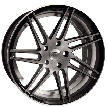 "Forzza Charge 19"" black polished"