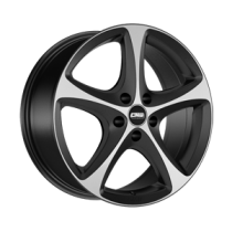 CMS C12 18x9 black polished