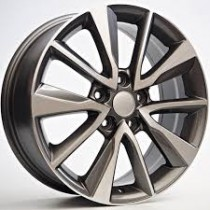 4Racing Codax 17x7 5x114,3 ET52 67,1 grey polished