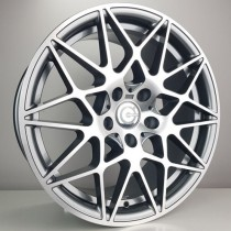 Carbonado Crazy 18x8,5 5x120 ET35 72,6 anthracite polished