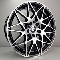Carbonado Crazy 18x8,5 5x120 ET35 72,6 black polished