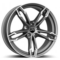 GMP Dea Anthracite Diamond 18x9