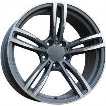Carbodano Diamond 17x8 5x120 ET33 72,6 anthracite polished