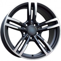 Carbodano Diamond 18x8,5 5x120 ET33 72,6 black polished