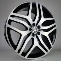 Carbonado Discovery 22x9,5 5x120 ET48 72,6 black polished