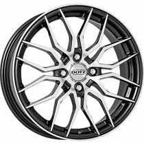 Dotz Limerock dark 17x7 gunmetal polished