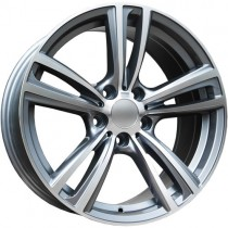 Carbonado Dual 17x8 5x120 ET30 72,6 anthracite polished