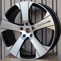 Racing Line RLDW227 black polished 22x10 5x130 ET45 71,56