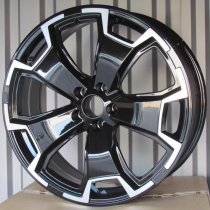 Racing Line RLDW279 black polished 20x8 5x108 ET40 63,4
