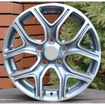 R Line MIDW5133 grey polished 16x6,5 5x114,3 ET45 67,1