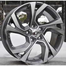 R Line RDW5229 17x7,5 5x114,3 ET40 66,1 anthracite polished