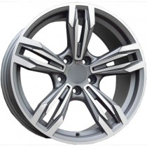 Carbonado Dynamite 17x8 5x120 ET30 72,6 anthracite polished