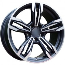 Carbonado Dynamite 17x8 5x120 ET30 72,6 black polished