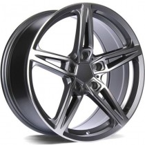 Carbonado Easy 18x8 5x120 ET30 72,6 anthracite polished
