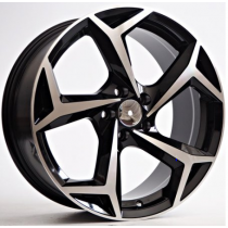 4Racing Edge 17x7,5 5x100 ET ET40 57,1 black polished BK5340