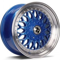 Seventy9 SV-E 15x7 4x100/114,3 ET30 67,1 blue lip polished