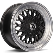 Seventy9 SV-E 15x7 4x100/114,3 ET30 67,1 matt black lip polished