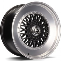 Seventy9 SV-F 16x7 4x100/114,3 ET30 67.1 black matt lip polished