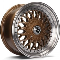 Seventy9 SV-E 16x7 4x100/114,3 ET30 67,1 bronze lip polished