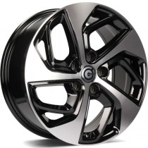 Carbonado Pacific 17x7 5x114,3 ET40 73,1 black polished