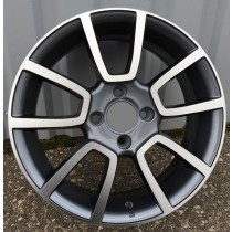 R Line BK746 grey polished 15x6 4x99 ET35 73,1