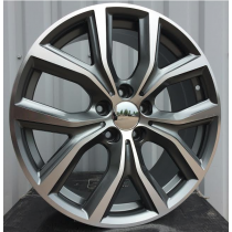 R Line FE129 grey polished 17x7,5 5x112