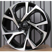R Line FE132 black polished 18x7 5x114.3 ET40 60.1