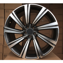 R Line JAFE140 grey polished 19x8,5 5x108 ET40 63,4