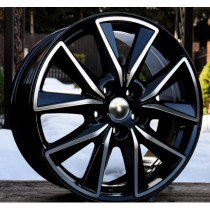 R Line MAFE173 17x7 5x114,3 ET50 67,1 black polished