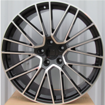 R Line PBY179 black polished 20x10,5 5x130 ET64 71,56