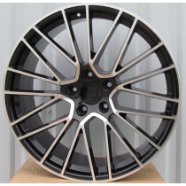 R Line PFE179 black polished 22x10 5x130 ET48 71,56