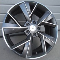 R Line FE211 grey polished 18x7 5x112 ET43 57.1